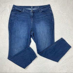 Crown & Ivy Curvy Skinny Jeans 22W Regular